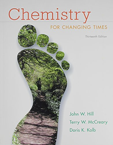 Download Chemistry for Changing Times and MasteringChemistry with eText and Access Card (13th Edition) 0321984145