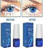 5 x Innoxa Gouttes Bleues French eye drops 5 x 10 ml (0.35 fl.oz) by Innoxa