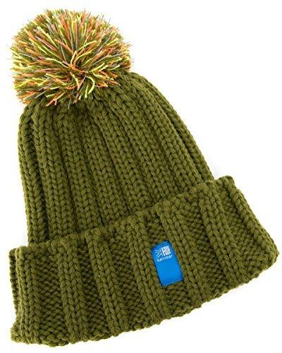 (カリマー) karrimor 子供用 ニット帽 BB folded beanie kids +d キッズ Olive/オリーブ 反射素材付き