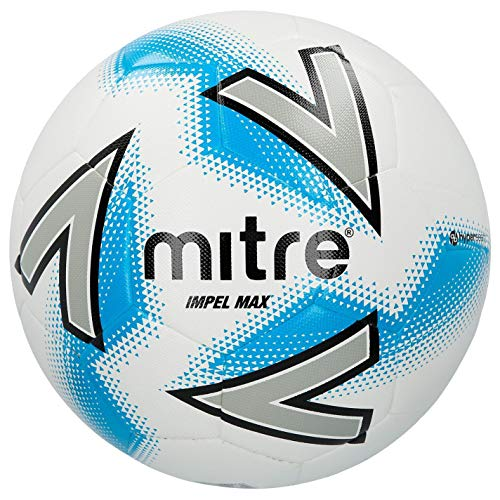 Mitre Impel Max Hyperseam Football White Soccer Ball