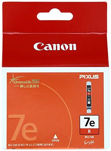 Canon 純正インクカートリッジ BCI-7e レッド BCI-7ER