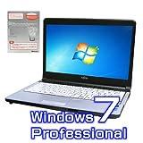 中古ノートパソコン 富士通 LIFEBOOK S761/D【Windows7 Pro・Microsoft Office 2010付き ワード エクセル パワーポイント】