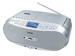 SONY CDラジオカセット メモリーレコーダー CFD-RS500