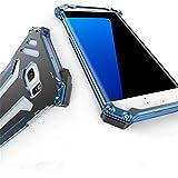 「小丸子の花轮クン」R-JUST正規品Samsung Galaxy s6 edge 耐衝撃 防塵カバー GAODA 軽便  防塵カバー 保護ケース 登山に対応 ギフトケース付き (Samsung Galaxy s6 edge, ブルー)
