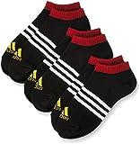 adidas スニーカー (アディダス)adidas ボーイズ/ガールズソックス 3本線スニーカー丈
