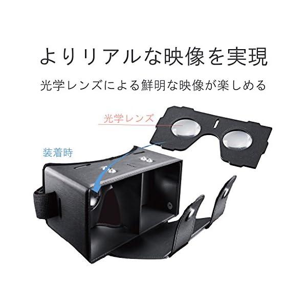 エレコム 3D VR ゴーグル 組立式 固定バ...の紹介画像6