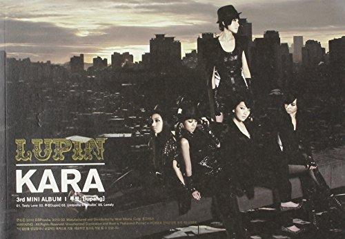 [画像:Kara 3rd Mini Album - Lupin(韓国盤)]