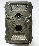 トレイルカメラ 500万画素 720P録画 30fps  40個赤外線LED搭載 野生動物の生態調査に活躍 屋外用の防犯カメラとして最適 防水 時差撮影 不可視赤外線 940nm 野外監視カメラ ハンティングカメラ HC26