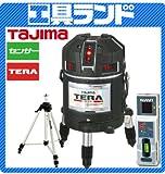 タジマ レーザー墨出し器 TERAレーザー 矩十字・横全周/10m/IP ML10-KJCSET (本体+受光器+三脚セット)