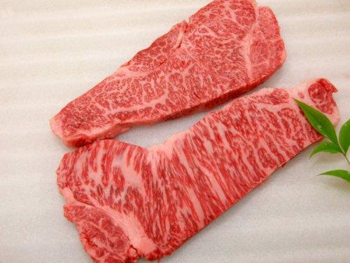 厳選 【 黒毛 和牛 雌牛 限定 】 食べ比べ サーロイン ステーキ肉 2枚 セット