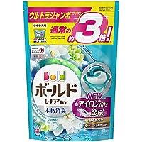洗濯洗剤 ジェルボール3D 柔軟剤入り ボールド 爽やかプレミアムクリーン 詰め替え 52個(約3倍)