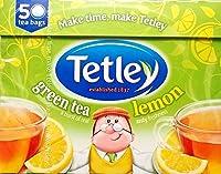 Tetley Green Lemon Tea Bags - 3 x 50's