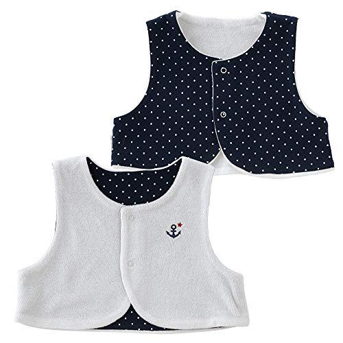 c4c7a9267756b (チャックルベビー) chuckle BABY ボンシュシュ 新生児ベスト 50-70cm ホワイト P9065-00-10 体温調節が苦手な赤ちゃんのマストアイテム  赤ちゃんは、自分自身で体温 ...