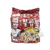 韓国産 Paldo李連福海鮮ブルチャンポン4袋入り