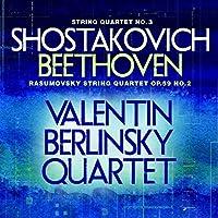 String Quartet No 3 / Rasumovsky String Quartet by Shostakovich (2013-03-05)