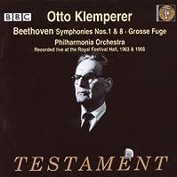 Symphonies 1 & 8