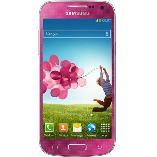 Samsung Galaxy S4 Mini DUOS I9192 Unlocked GSM Android Dual-SIM Phone -Pink [並行輸入品]