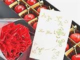 【予約】母の日さくらんぼ佐藤錦と生花カーネーションギフトメッセージカード付き