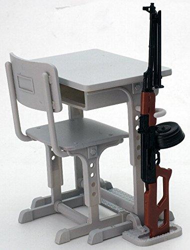 リトルアーモリー LD011 指定防衛校の机 グリースガンセット プラモデル