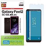 エレコム Galaxy Feel2 フィルム SC-02L 指紋防止 反射防止 日本製 PD-SC02LFLF