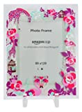 【Amazon.co.jp限定】Kayo Horaguchiコラボレーション グラスフォトフレーム(L版サイズ) ピンク