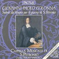 Salmi Da Vespro Per by GIOVANNI PAOLO COLONNA (2013-08-05)