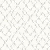 チェサピーク3115–12423Blaze Trellis壁紙、ホワイト