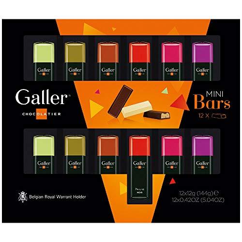 【 Galler (ガレー) ベルギー王室御用達 チョコレート 】 ミニバー 12本入り