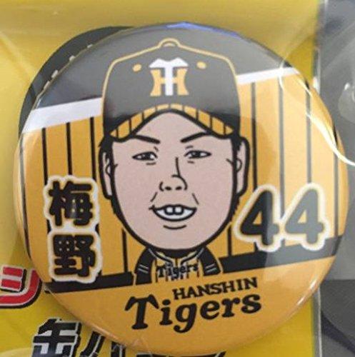 梅野選手 阪神タイガース ウル虎の夏2017 シークレット缶バッジ