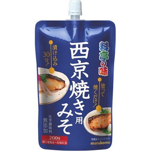 マルコメ 料亭の味 西京焼き用みそ(200g)