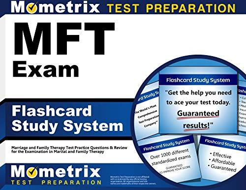 Download Mft Exam Flashcard Study System: Marriage and Family Therapy Test Practice Questions & Review for the Examination in Marital and Family Therapy 1610720164