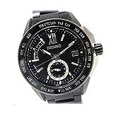SEIKO(セイコー) BRIGHTZ ブライツ エグゼクティブライン メンズ腕時計 ワールドタイムソーラー電波 PVDブラック SAGA113 [中古]