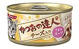 かつおの達人缶 チーズ入り うまみスープ 80g