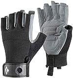 BlackDiamond(ブラックダイヤモンド) クラッグ ハーフフィンガーグローブ BD14037 ブラック(BK) XL