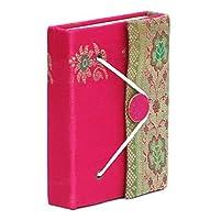 "6"" Writingサリー詩ジャーナル個人用ノートブックSketchbookスクラップブック旅行日記手作り空白用紙Small Thread Closure–Uniqueギフトアイデア? ピンク"