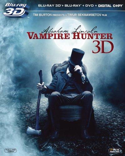 リンカーン/秘密の書 3枚組3D・2Dブルーレイ&DVD&デジタルコピー (初回生産限定) [Blu-ray]の詳細を見る