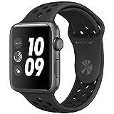 Apple Watch Nike+ Series3 スペースグレイアルミニウムケースとアンスラサイト/ブラックNikeスポーツバンド アップルウォッチ ナイキ シリーズ3 本体 (42mm, GPSモデル)