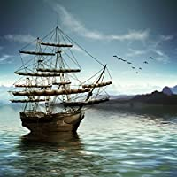 コットン シームレス 木製 ヨット 写真 背景 赤 日光 海 写真 背景