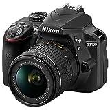 ニコン デジタル一眼レフカメラ・18-55 VR レンズキット D3400 ブラック D3400LKBK