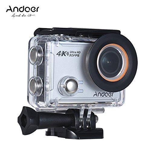 [해외]Andoer AN100 4K WiFi 액션 카메라 30MP 1080P | 120fps 2.0 인치 IPS 스크린 170 ° 광각 방수 마이크 하드 케이스/Andoer AN100 4K WiFi action camera 30 MP 1080P | 120 fps 2.0 inch IPS screen 170 ° wide angle waterproof microphone with ...