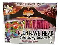 Just My Style Neon Wave Wear friendship bracelets