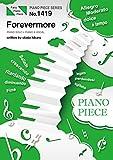 ピアノピースPP1419 Forevermore / 宇多田ヒカル (ピアノソロ・ピアノ&ヴォーカル)~TBS系日曜劇場「ごめん、愛してる」主題歌