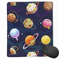 マウスパッド 惑星 宇宙 銀河 星 おしゃれ 高耐久性 滑り止め 防水 PC ラップトップ 水洗い レーザー 光学式 25*30cm