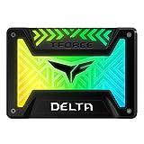 Team RGB(発光型) SSD DELTAシリーズ 250GB SATA3接続 2.5インチ 9.5mm厚 5V RGB Header専用 Black 日本国内3年保証 正規品