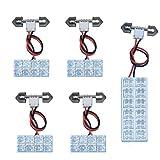 オデッセイ RB1 / 2 FLUX LED ルームランプ 5 点 セット 44連