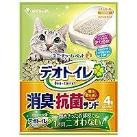 デオトイレ 1週間消臭・抗菌 飛び散らない消臭・抗菌サンド 4L