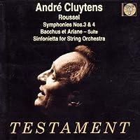 Symphonies 3 & 4 / Bacchus & Ariane