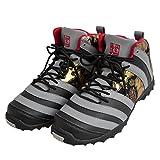 (リュウズ)竜図 蛇腹スニーカー 和柄 和風 靴 金襴 1610FSZ01HS グレー 27.0cm