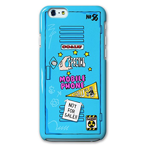 collaborn COCOLULU × CollaBorn iPhone6 Plus(5.5インチ)専用ケース Locker_blue BR-I6P-073