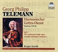 Georg Philipp TELEMANN Harmonischer Gottes-Dienst by G.P. Telemann (2006-09-12)